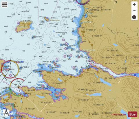 Ballynakill and Killary Harbours with Approaches Marine Chart - Nautical Charts App