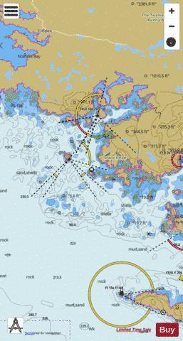 Roundstone and Approaches Marine Chart - Nautical Charts App