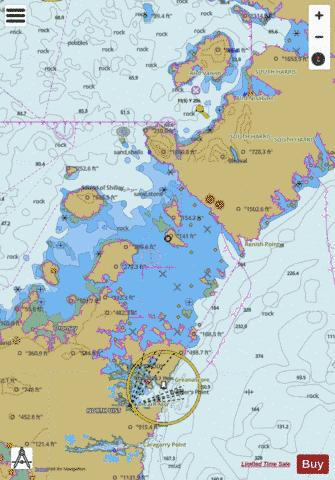 Sound of Harris Marine Chart - Nautical Charts App
