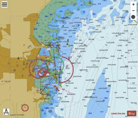 Saint Peter Port Marine Chart - Nautical Charts App