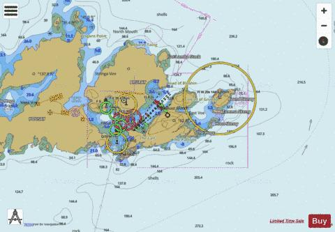 B  Out Skerries Marine Chart - Nautical Charts App