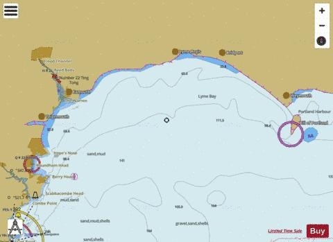 Berry Head to Portland Bill Marine Chart - Nautical Charts App
