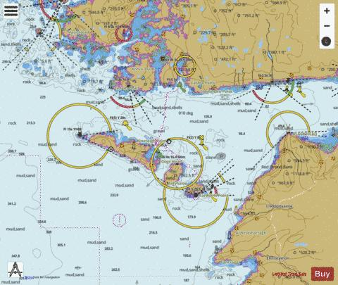 Approaches to Galway Bay including the Aran Islands Marine Chart - Nautical Charts App