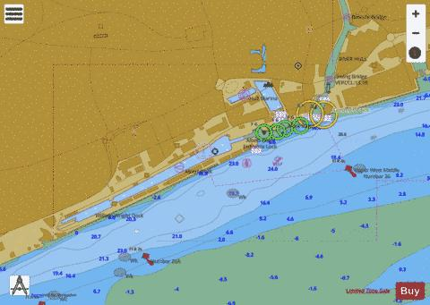 B Hull Docks Western Part Marine Chart - Nautical Charts App