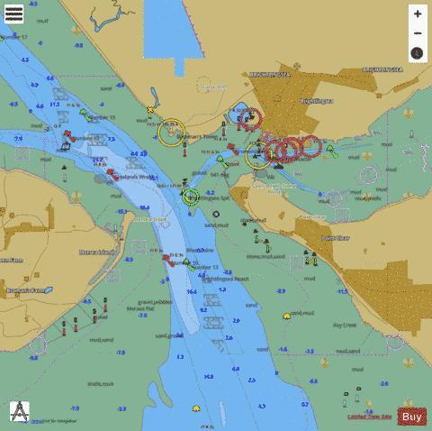 A Brightlingsea Marine Chart 3741 1 Nautical Charts App