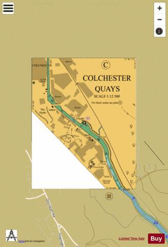 C  Colchester Quays Marine Chart - Nautical Charts App