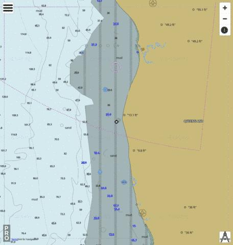 Gulf of Carpentaria - Kendall River to Pormpuraaw Marine Chart - Nautical Charts App