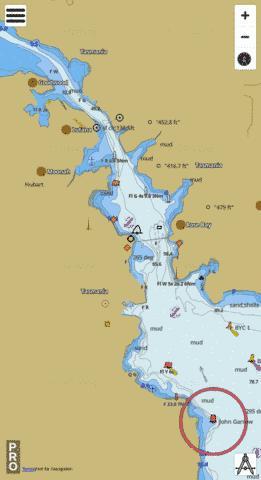 Australia Map Hobart.Australia Tasmania Hobart Marine Chart Au Au5172p0