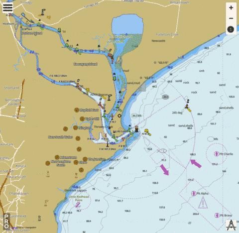 Australia - New South Wales - Newcastle Marine Chart - Nautical Charts App