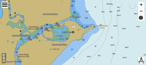 New South Wales - Camden Haven Marine Chart - Nautical Charts App