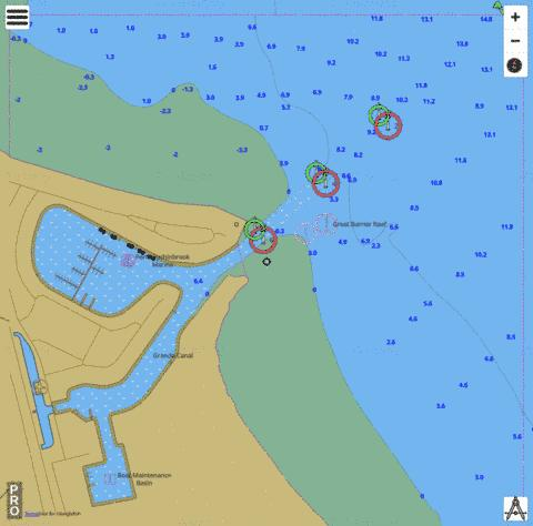 Queensland - Great Barrier Reef - Oyster Point Marine Chart - Nautical Charts App