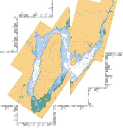LAKE SCUGOG Marine Chart CAB Nautical Charts App - Water depth map