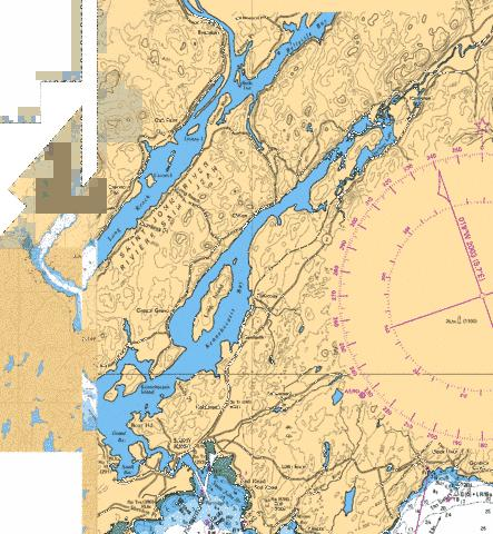 SAINT JOHN TO GRAND BAY INCLUDINGY COMPRIS KENNEBECASIS RIVER