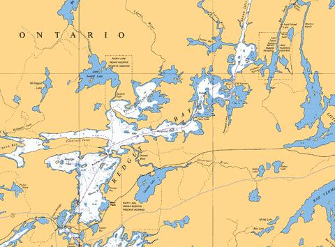 NORTHERN PORTION / PARTIE NORD REDGUT BAY Marine Chart - Nautical Charts App