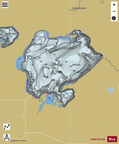 Cold Lake Map Cold Lake (Fishing Map : CA_AB_cold_lake) | Nautical Charts App