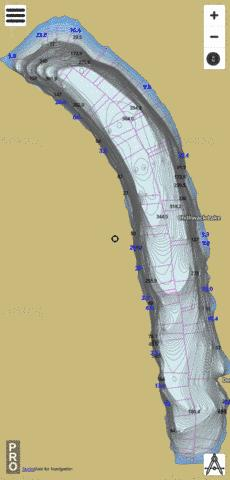 Chilliwack Lake Fishing Map - i-Boating App