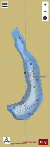 China Cabin Lake Fishing Map - i-Boating App