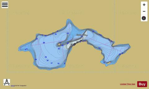 Cicuta Lake Fishing Map - i-Boating App