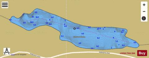 Colwood Lake Fishing Map - i-Boating App