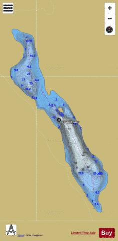 Council Lake Fishing Map - i-Boating App