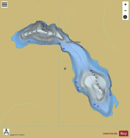 Frogmoore Lakes Fishing Map - i-Boating App