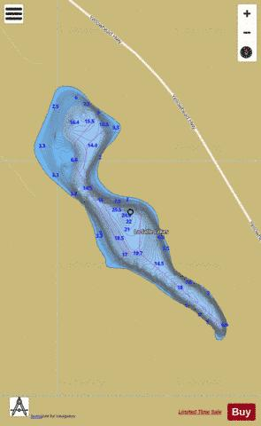 La Salle Lakes Fishing Map - i-Boating App