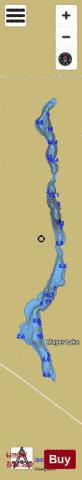 Mayer Lake Fishing Map - i-Boating App