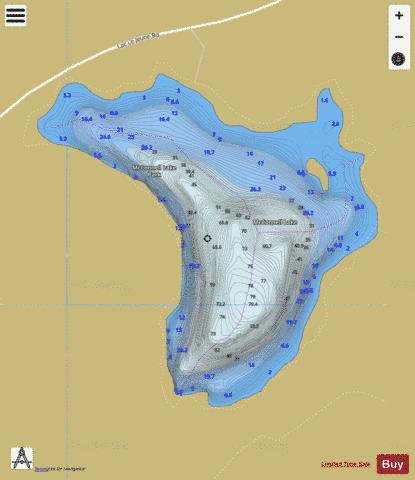 Mcconnell Lake Fishing Map - i-Boating App