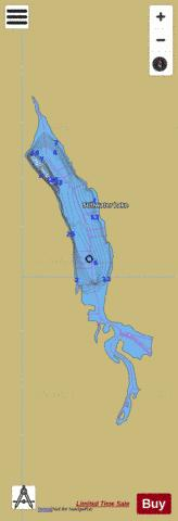 Stillwater Lake Fishing Map - i-Boating App