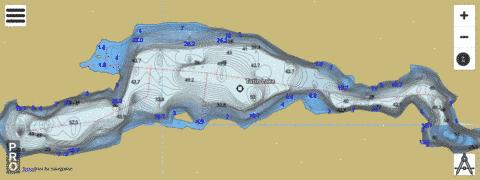 Tatin Lake Fishing Map - i-Boating App