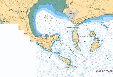 Baie des SeptIles Marine Chart CACA479006 Nautical Charts App