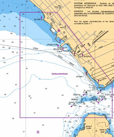 SeptIles Marine Chart CACA579008 Nautical Charts App