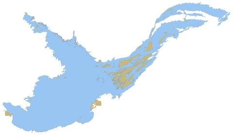 Great Slave Lake Map Great Slave Lake (Fishing Map : CA_NT_great_slave_lake)   Nautical  Great Slave Lake Map