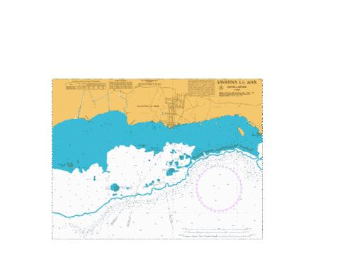 A  Savanna la Mar Marine Chart - Nautical Charts App
