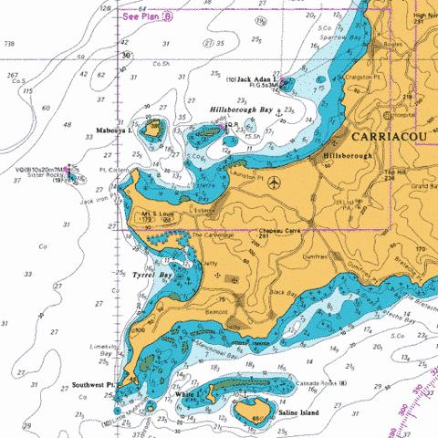 B  Hillsborough Bay Marine Chart - Nautical Charts App