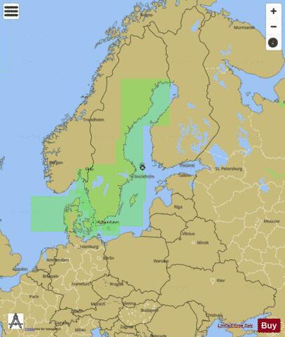 BALTIC SEA (Marine Chart : DE_DE110000) | Nautical Charts App