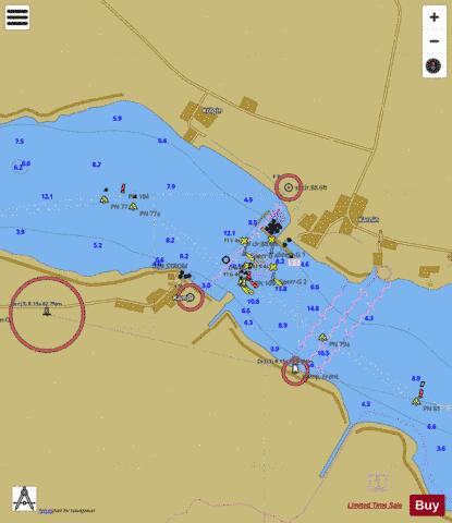 KAMP TO KARNIN Marine Chart - Nautical Charts App