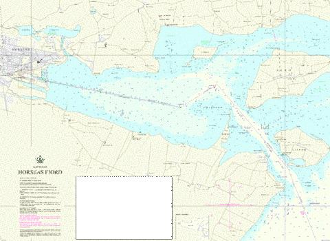 Horsens Fjord Marine Chart DK113 Nautical Charts App