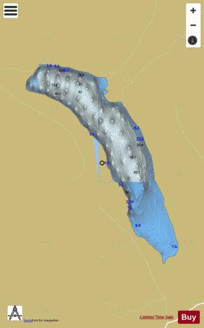 Dan ( Lough ) Fishing Map - i-Boating App