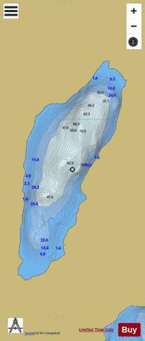 Fadda ( Lough ) Fishing Map - i-Boating App