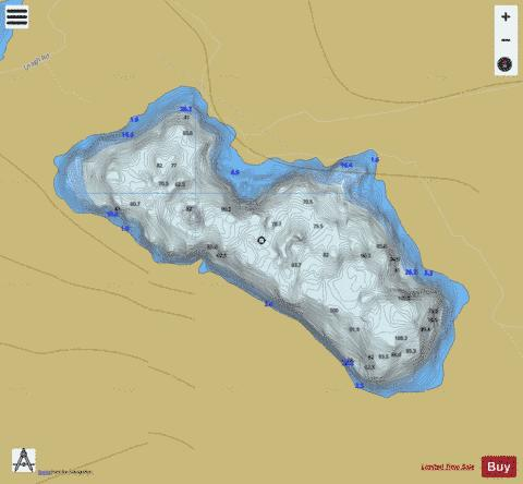 Inchiqin ( Lough ) Fishing Map - i-Boating App