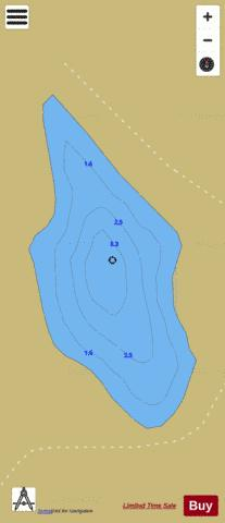 Lake at BALLINTLEAVE COMMONS Fishing Map - i-Boating App