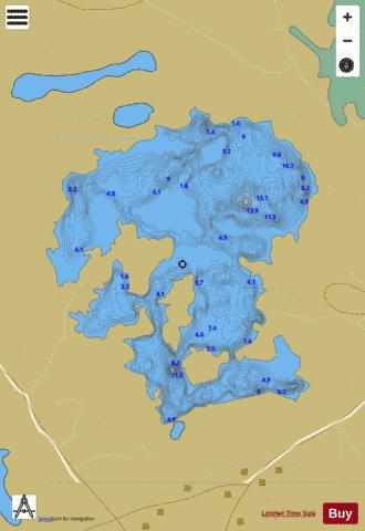 Anaserd ( Lough ) Fishing Map - i-Boating App