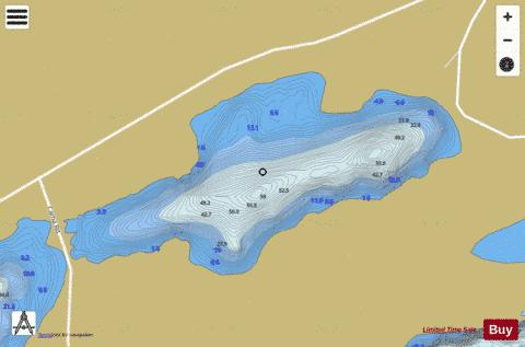 na Cuige Rua ( Loch ) Fishing Map - i-Boating App