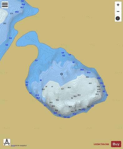 Corryloughaphuil Lough Fishing Map - i-Boating App