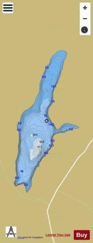 Acanon ( Lough ) Fishing Map - i-Boating App