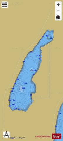 Inchin ( Lough ) Fishing Map - i-Boating App