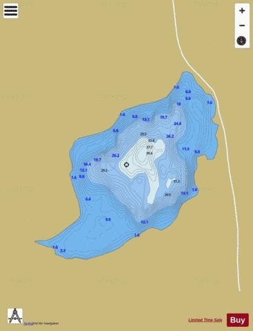 Columbkille Lough Fishing Map - i-Boating App