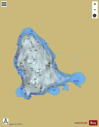 Belshade ( Lough ) Fishing Map - i-Boating App