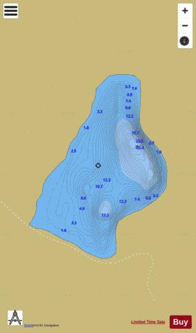 Columbcille's Lough Fishing Map - i-Boating App